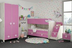 Детская Mini Роза - Мебельная фабрика «Клюква»