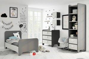 Детская Mini Сатин+Антрацит - Мебельная фабрика «Клюква»