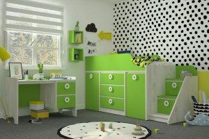 Детская Mini Зеленая мамба - Мебельная фабрика «Клюква»