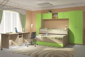 Детская Мийа-2 - Мебельная фабрика «Стиль»