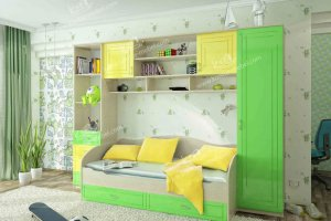 Детская модульная мебель  МДФ  - Мебельная фабрика «Контур»