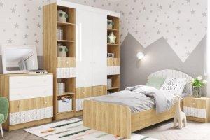 Детская модульная система Сканди - Мебельная фабрика «ДСВ-Мебель»