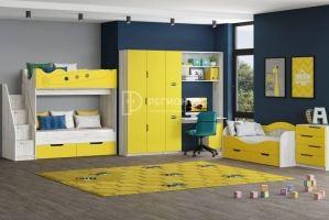 Детская модульная Юниор-15 - Мебельная фабрика «Регион 058»