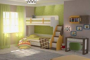 Детская модульная Жираф - Мебельная фабрика «ЭТОмебель (Волгодонский комбинат древесных плит)»