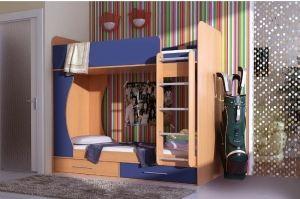 Детская двухъярусная кровать Николас - Мебельная фабрика «КамиАл»