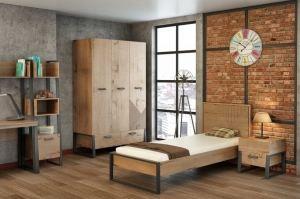 Детская Оскар в стиле лофт - Мебельная фабрика «Интеди»