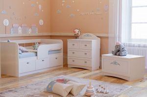 Детская Прованс-3 - Мебельная фабрика «Сильва»