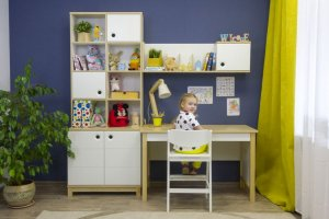 Детская рабочая зона Робин Wood Лайт - Мебельная фабрика «38 попугаев»