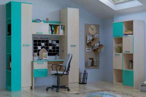 Детская Рико-2 аква - Мебельная фабрика «Сильва»