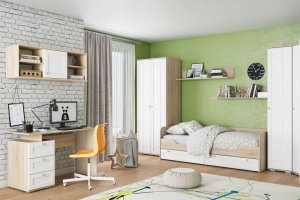 Детская Ривьера белая - Мебельная фабрика «Ваша мебель»
