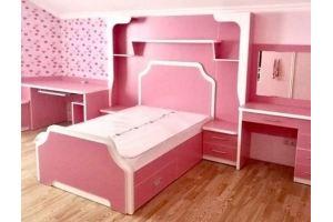 Детская розовая для девочки - Мебельная фабрика «Омега»