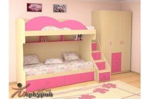 Детская розовая Рита - Мебельная фабрика «Меркурий»