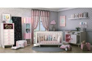 Детская Розовый кот 0+ - Мебельная фабрика «Ель кухни»