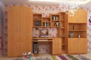 Детская с учебной зоной Мишутка - Мебельная фабрика «НАРУС»