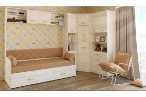 Детская с угловым шкафом Марвин - Мебельная фабрика «Сканд-Мебель»