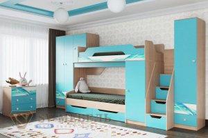 Детская Сити 1 для двоих - Мебельная фабрика «SV-мебель»