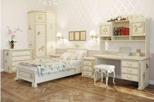 Детская Слоновая кость - Мебельная фабрика «Royal Dream»