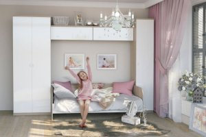 Детская  СОЛО-5 - Мебельная фабрика «Континент-мебель»