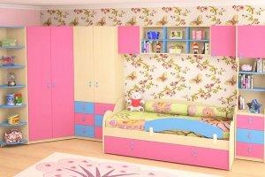 Детская спальня для девочки - Мебельная фабрика «Агата»