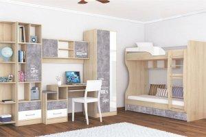 Детская спальня Колибри Лофт - Мебельная фабрика «ТЭКС»