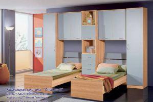 Детская Спринт-1 15 - Мебельная фабрика «30 Век»
