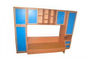 Детская стенка с кроватью - Мебельная фабрика «Алтай-Командор»