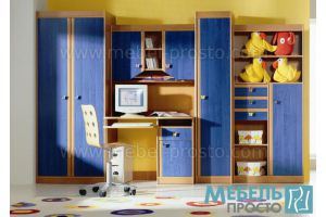 Детская стенка Юниор - Мебельная фабрика «МЕБЕЛЬ ПРОСТО»