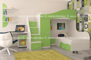 Детская Степ для двух детей - Мебельная фабрика «Мебель Поволжья»