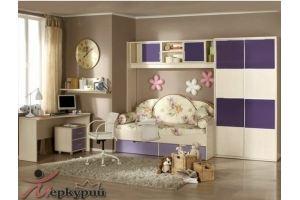 Детская светлая Жасмин - Мебельная фабрика «Меркурий»