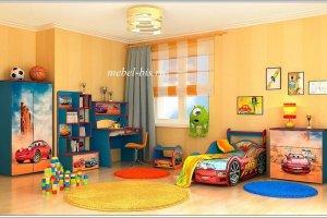 Детская Тачки - Мебельная фабрика «Порта»