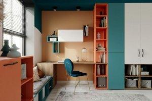 Детская Teenager Ниагара зеленая - Мебельная фабрика «Клюква»
