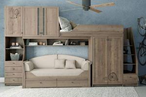 Детская темная Calypso Wood - Мебельная фабрика «Клюква»