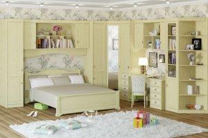Детская угловая Итальянский мотив - Мебельная фабрика «Крафт»