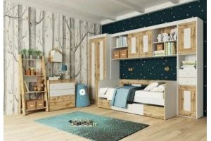 Детская в стиле лофт Брауни - Мебельная фабрика «Инволюкс»