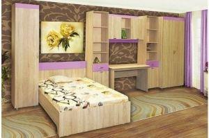 Детская Валенсия для девочки - Мебельная фабрика «Сибирь»
