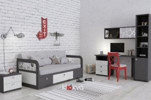 Детская Velvet  3 - Мебельная фабрика «Клюква»