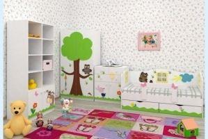 Детская Винни с дубом - Мебельная фабрика «Дубок»