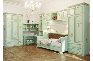 Детская Волшебный мир Салатовая - Мебельная фабрика «Royal Dream»