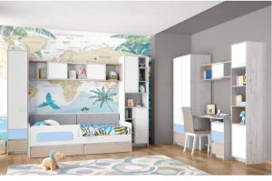 Детская Зефир голубой - Мебельная фабрика «Аквилон»
