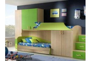 Детская зеленая Регина - Мебельная фабрика «Меркурий»