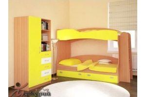 Детская желтая Цыпа - Мебельная фабрика «Меркурий»