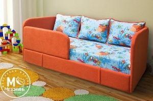 Детский диван Киви с бортиками - Мебельная фабрика «Мезонин мебель»
