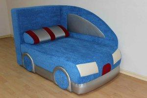 Детский диван Машинка - Мебельная фабрика «Калина»