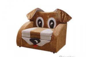 Детский диван в форме Собачки Мартиник 6Н - Мебельная фабрика «Софт Сити»