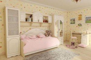 Детский гарнитур для девочки Кэтти - Мебельная фабрика «Вестра»