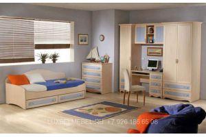 Детский гарнитур из массива 020516 - Мебельная фабрика «Тамерлан-Стиль (ЛюксБелМебель)»