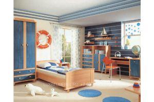 Детский гарнитур из массива 050220 - Мебельная фабрика «Тамерлан-Стиль (ЛюксБелМебель)»