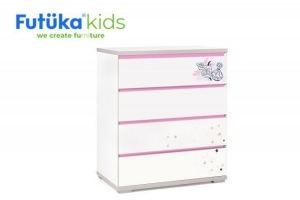 Детский комод Q-bix 14 - Мебельная фабрика «Футука Кидс»