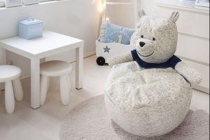Детский пуф Полярный Мишка - Мебельная фабрика «Эвальд»