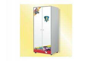 Детский шкаф 2 двери Brilliantline - Мебельная фабрика «GRIFON»